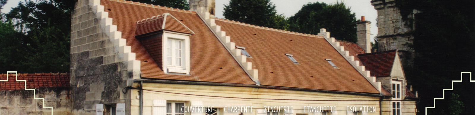 Couvreur Soissons : nos références
