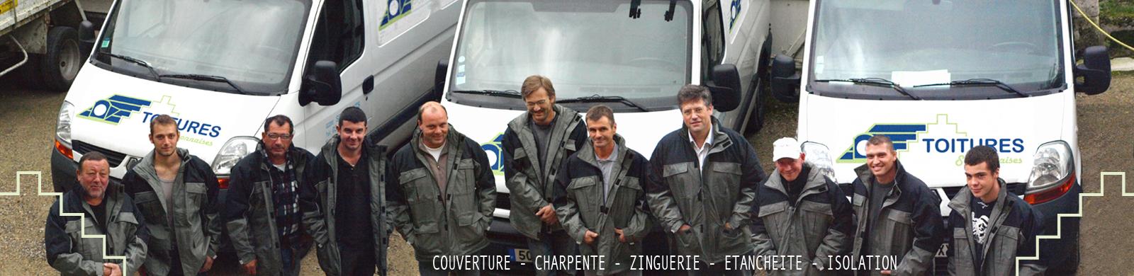 Couvreur Soissons : équipe Toitures Soissonnaises