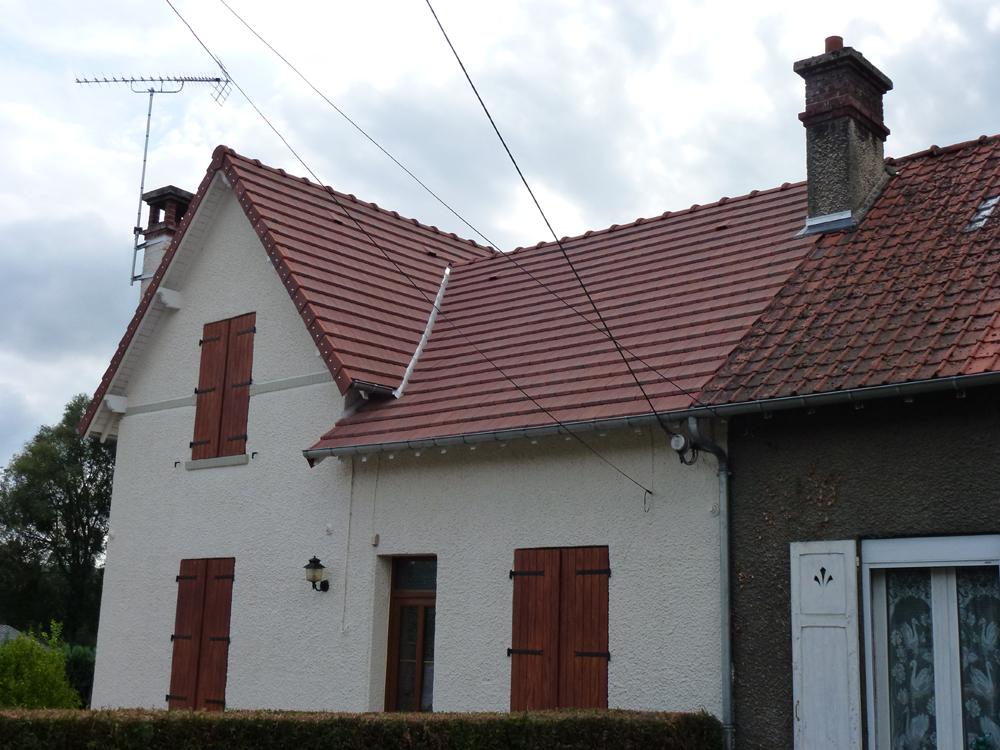 Couvreur Soissons : Tuiles mécaniques à Berzy-le-sec