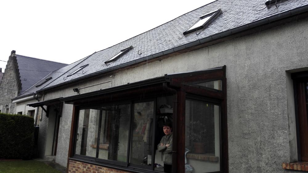 Couvreur Soissons : ardoises à berzy le sec