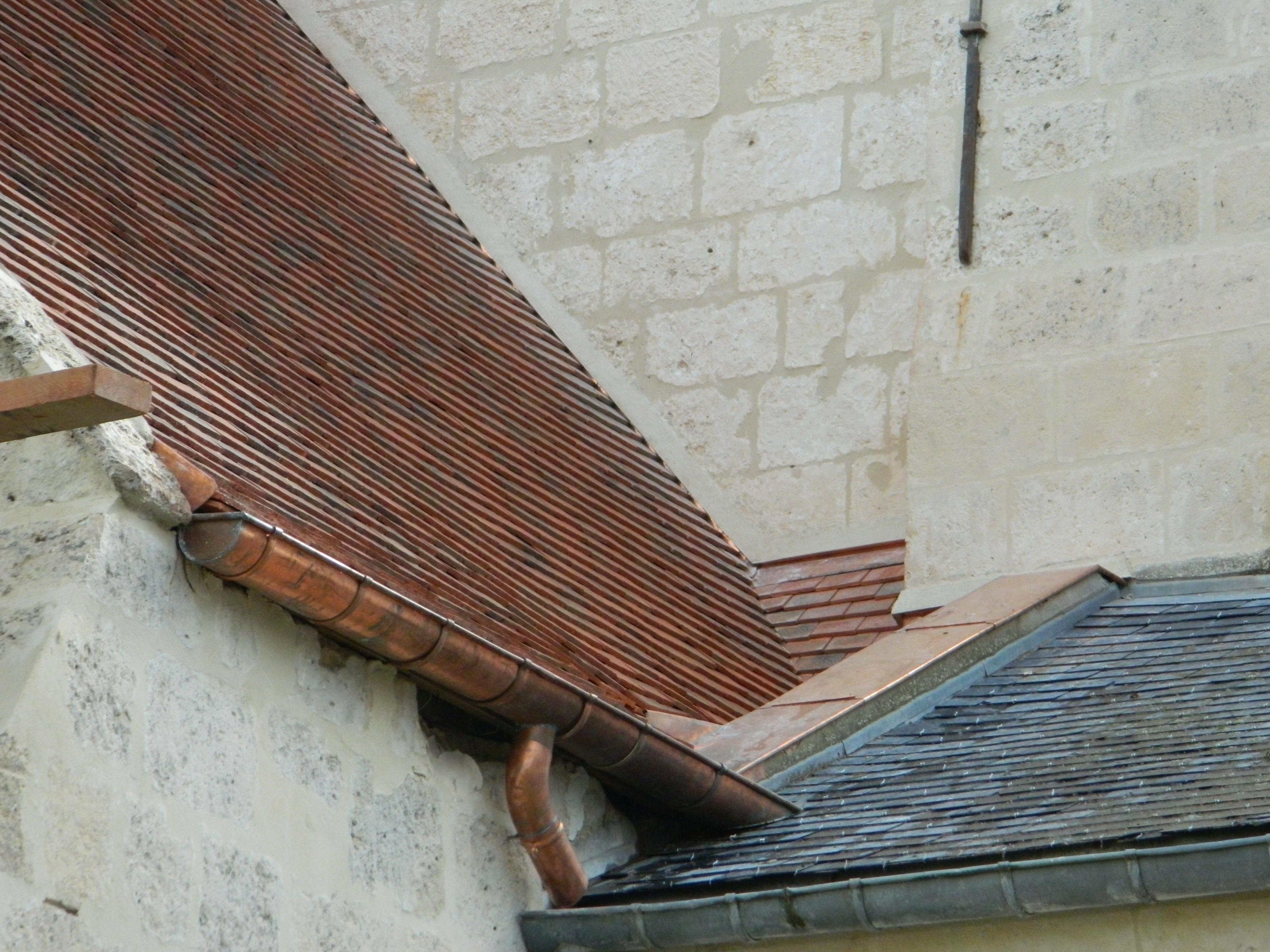 Eglise de billy sur aisne toitures soissonnaises for Feuille de cuivre toiture